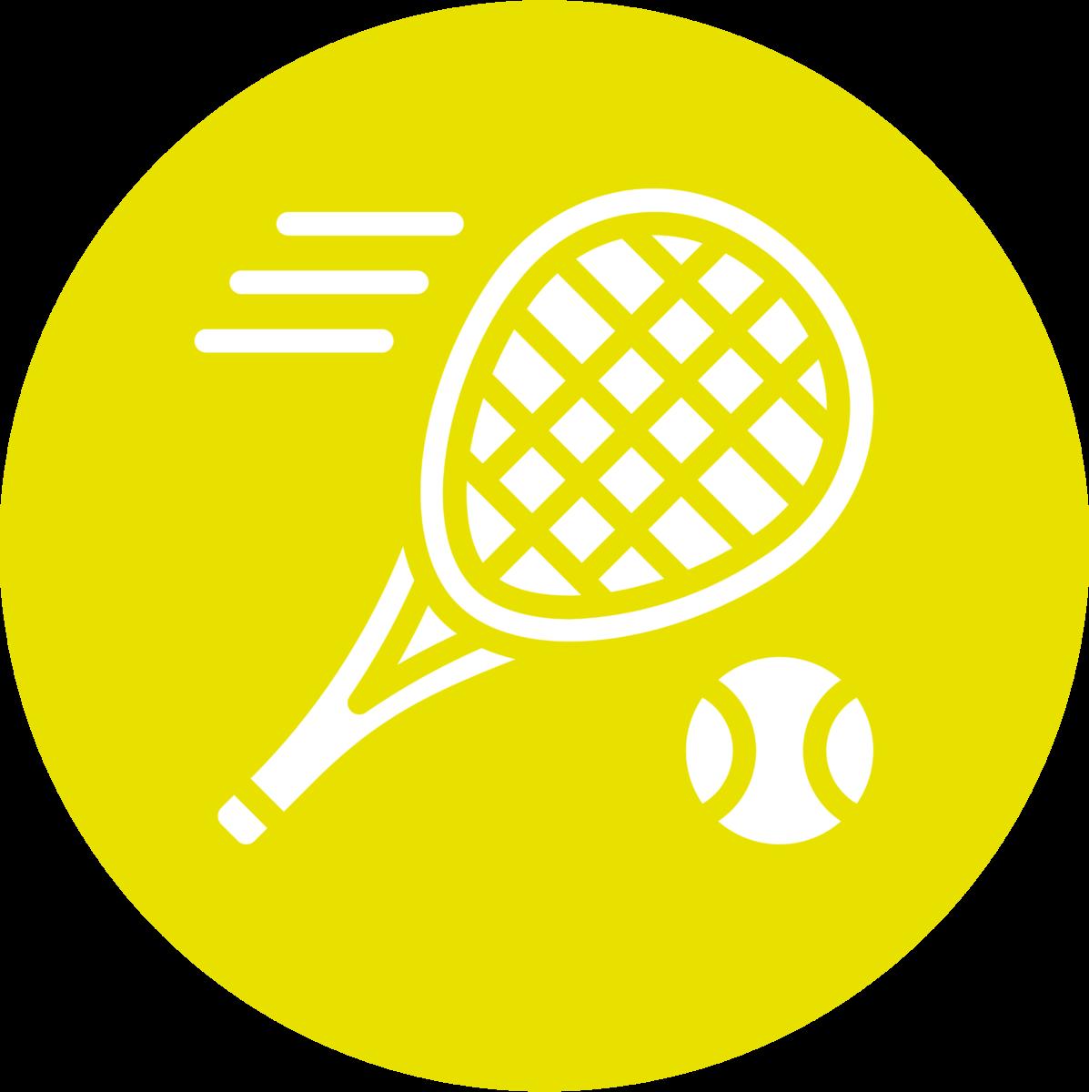 Tennishalle Icon